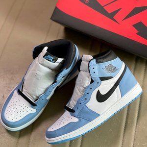 Air Jordan1 Women's University Blue Sports Shoes